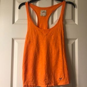 Bright Orange Hollister Tank Top